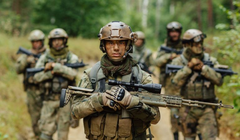The Army is the true nobility of our country. . . ArmyMen