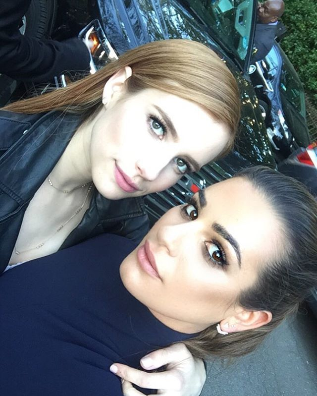 These Pictures Of Emma Roberts And Lea Michele Prove They Have One