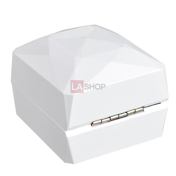 Led Ring Box Jewelry Storage Display Case Illuminate Gift Box Ring Display Boxes Jewellery Storage Display Led Ring
