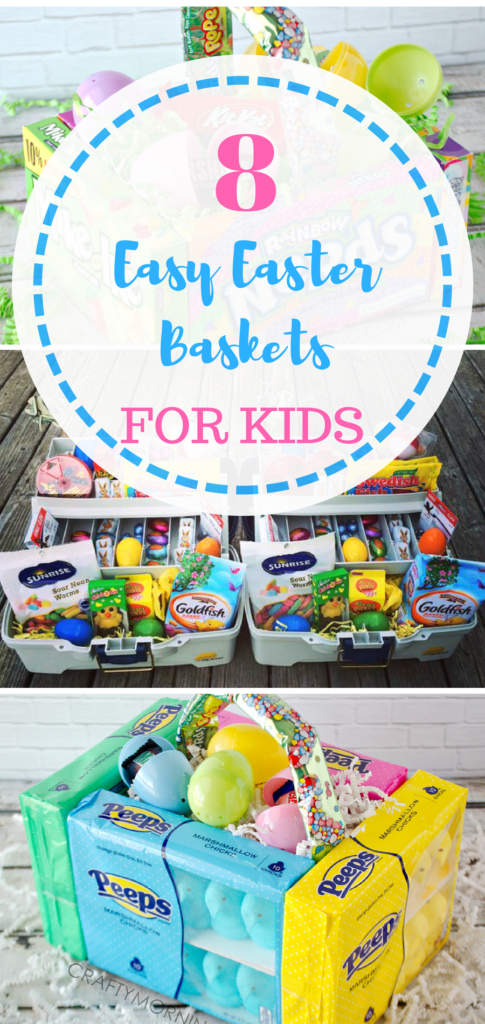 8 easy easter baskets idea holiday diys decor fun 8 easy easter baskets idea negle Image collections