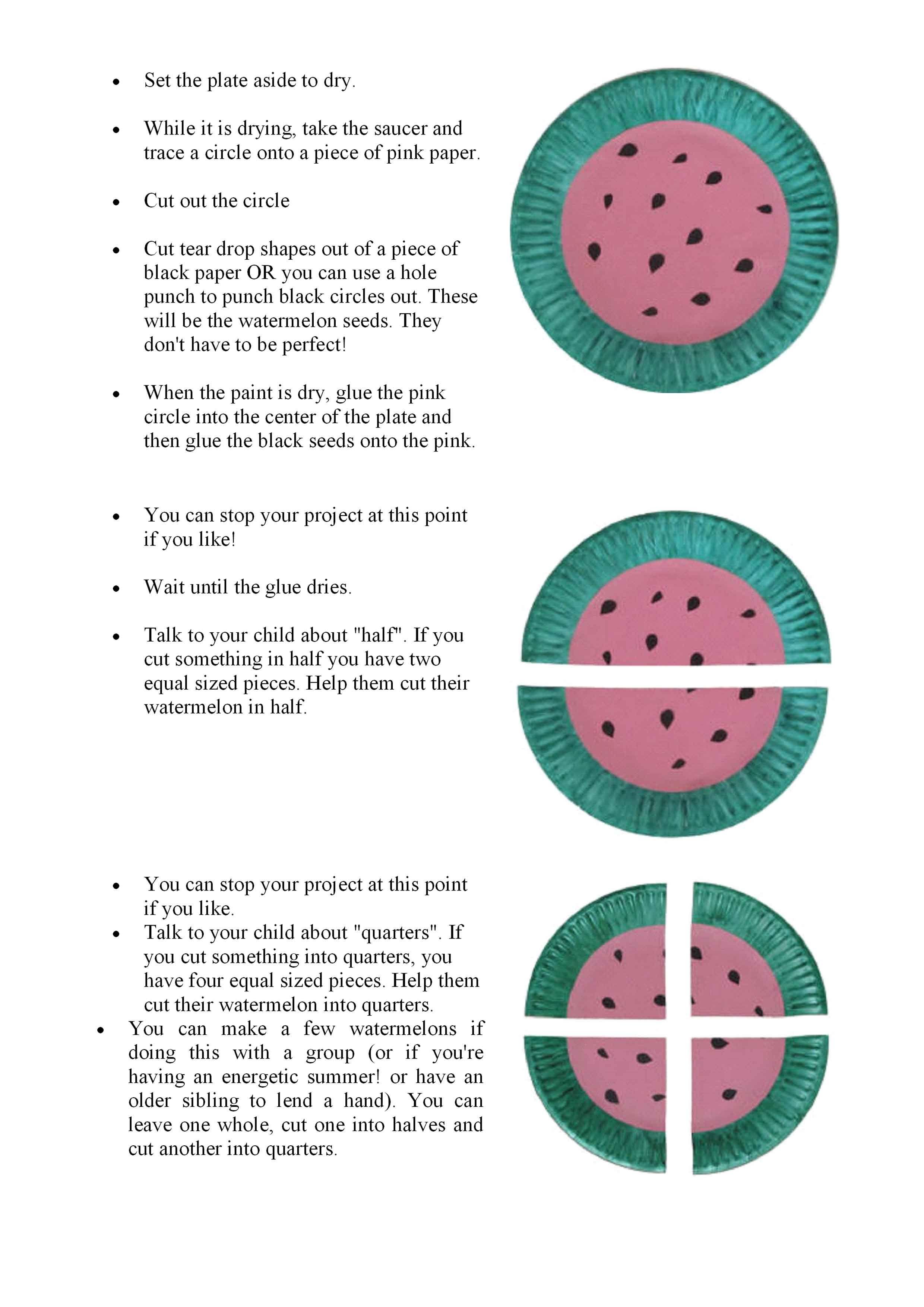 Watermelon Activity Megan Madison Coincidence That We Are Teaching Quarter Circle And Half Circle Watermelon Activities Fun Fractions Kindergarten Activities [ 3508 x 2480 Pixel ]