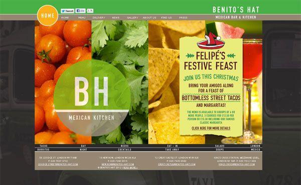 Restaurant Web Designs 40 Yummy Cafe Restaurant Websites