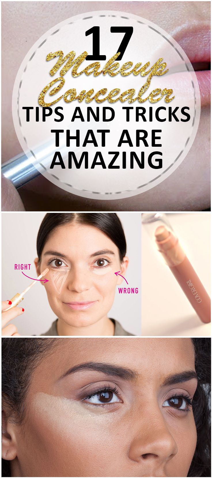 Main Makeup Brushes You Need: One Of The Main Jobs Of Makeup Is Covering Up Blemishes