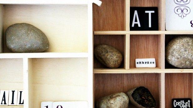 6 maneras sencillas para decorar con piedras