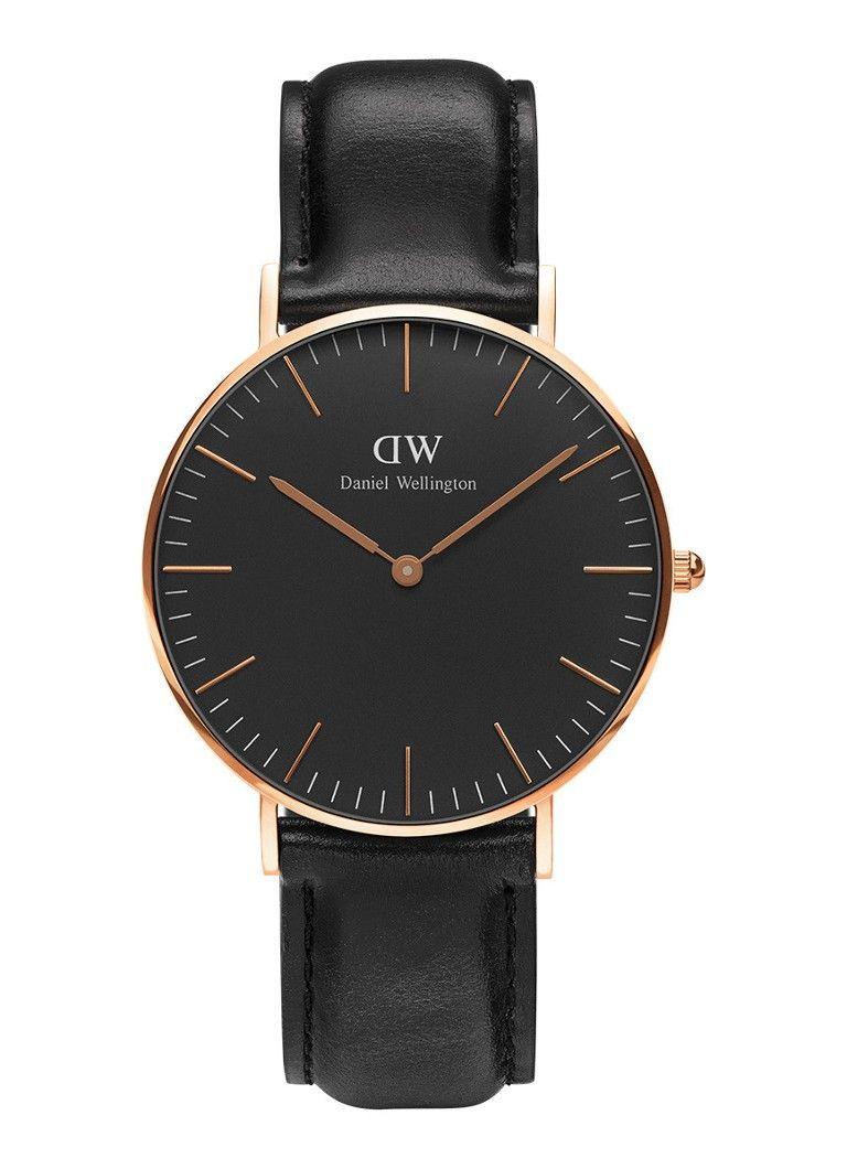 Daniel Wellington Horloge Black Sheffield DW00100139 • de Bijenkorf