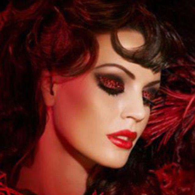 Moulin Rouge makeup | Makeup I Love | Pinterest | Rouge ...