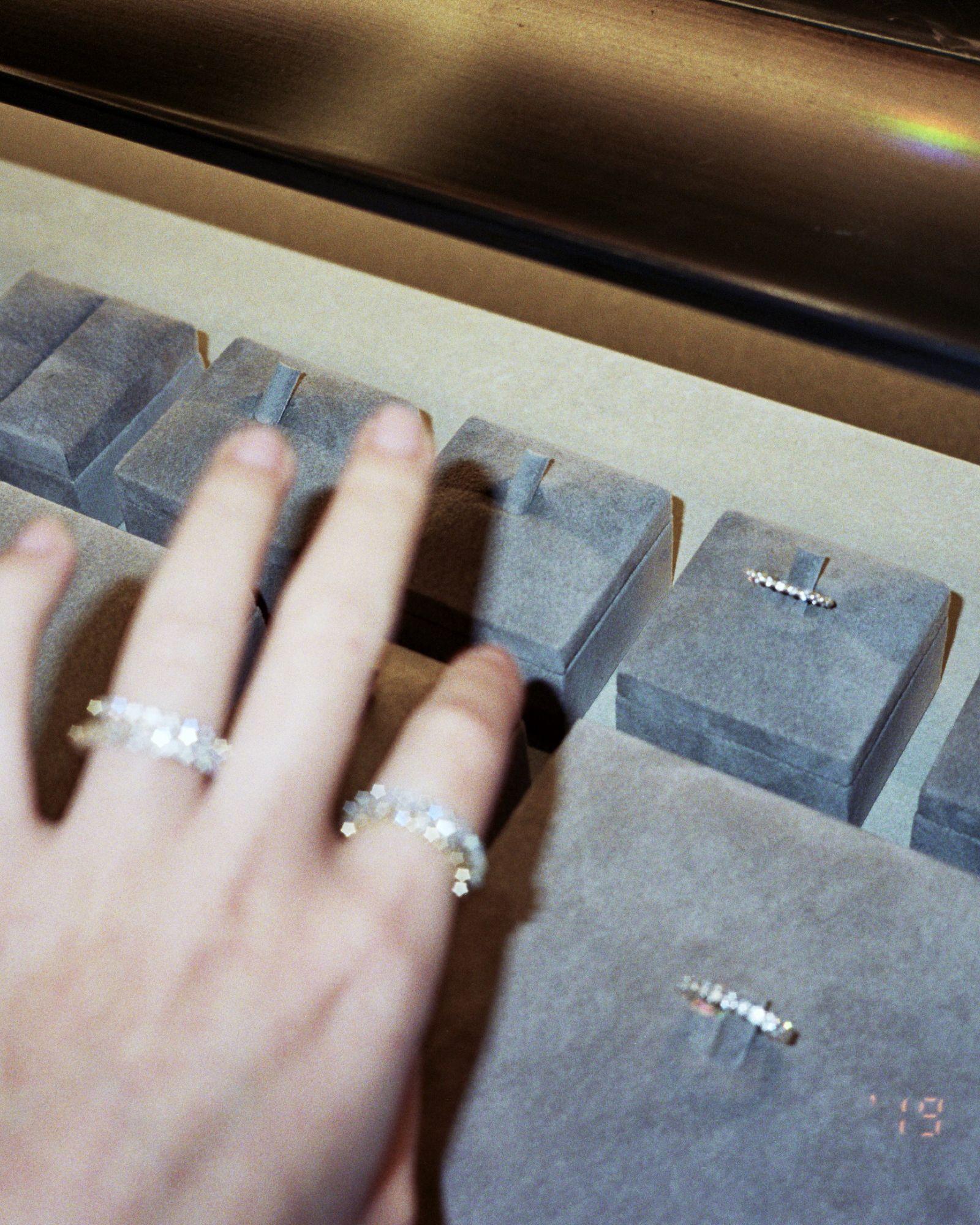 White I Sarah Sebastian Wedding Ring Bands Wedding Bands Bespoke Engagement Ring