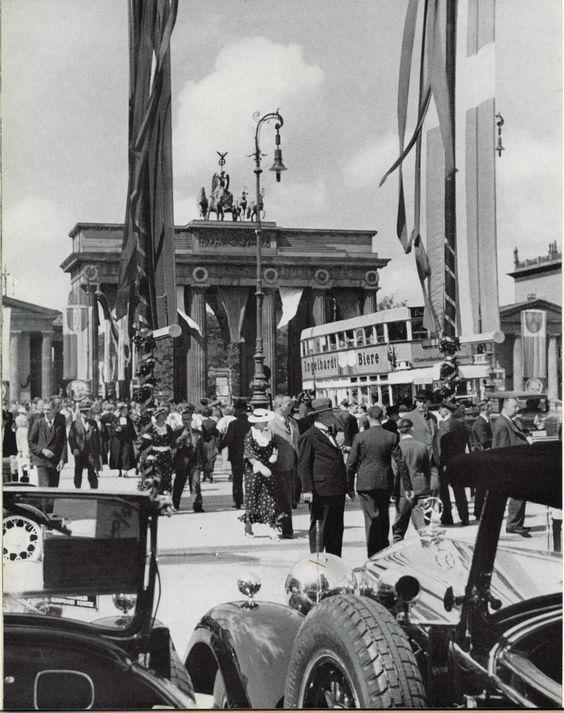 Brandenburger Tor J 30 Duitsland Berlijn En Fotografie