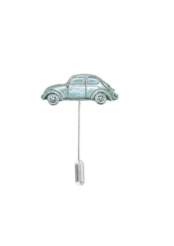 Classic Car VWB on a tie stick pin, hat pin , scarf , collar English Pewter Code PPT07 jewellery jewelry
