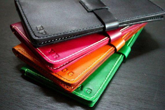Handmade iPhone leather wallet iPhone 6/6s/SE/6 by JoeTheCraftsman
