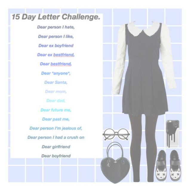"""""""DAY 2 ~☆"""" by hetalia-lover ❤ liked on Polyvore featuring мода, T.U.K., Retrò, Casetify, women's clothing, women, female, woman, misses и juniors"""