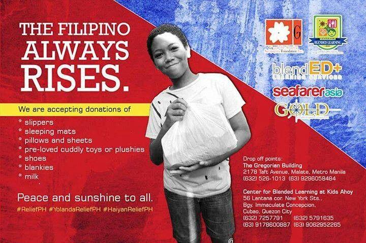 The Filipino always rises!