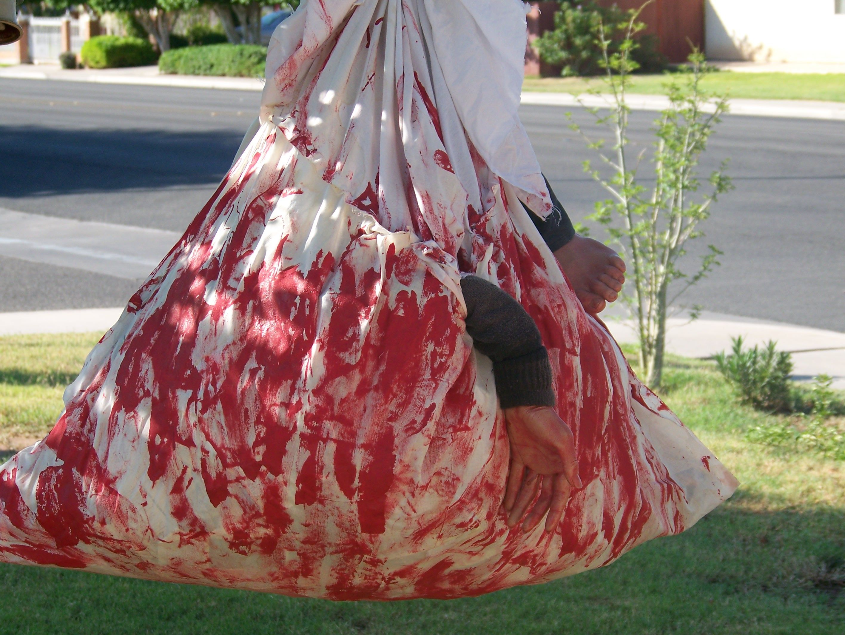 how to make fake blood bags
