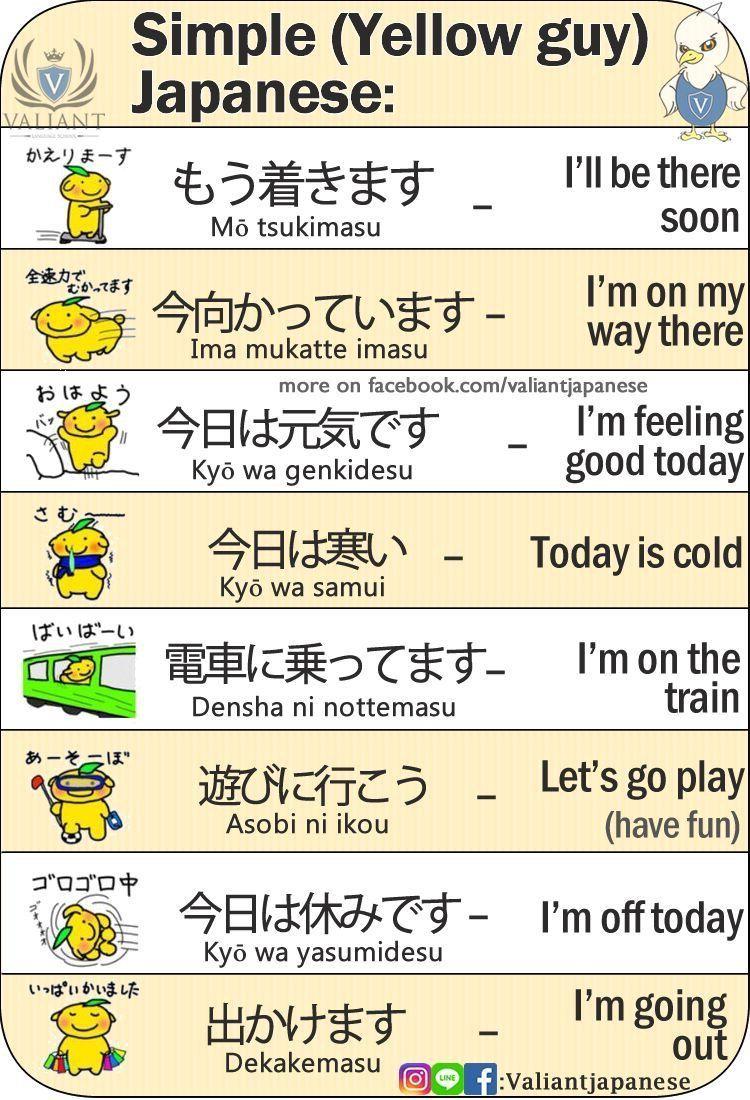Japanese … Japanese language learning, Japanese phrases