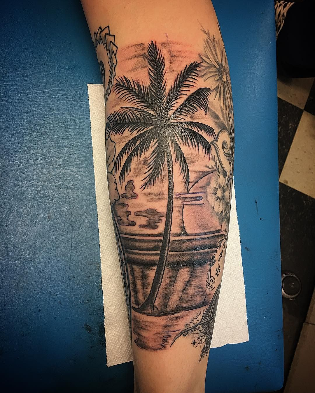 PalmTreeTattoo_24.jpg (1080×1349) Palm tree tattoo