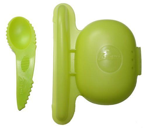Porta kiwis con cuchara zespri utensilios de cocina for Porta cucharas cocina