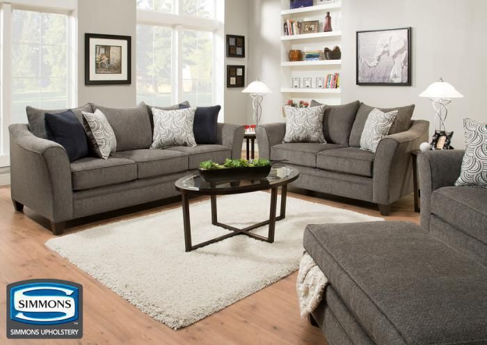 Albany Collection Pewter In Store Products Sofa Loveseat And