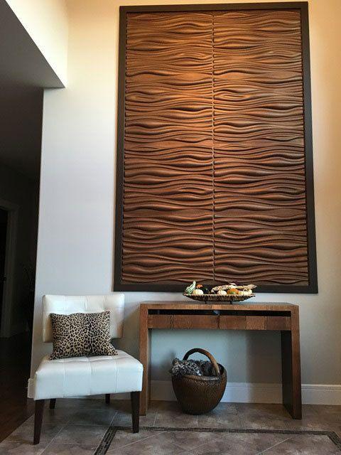 Wood Wall Decor Panel