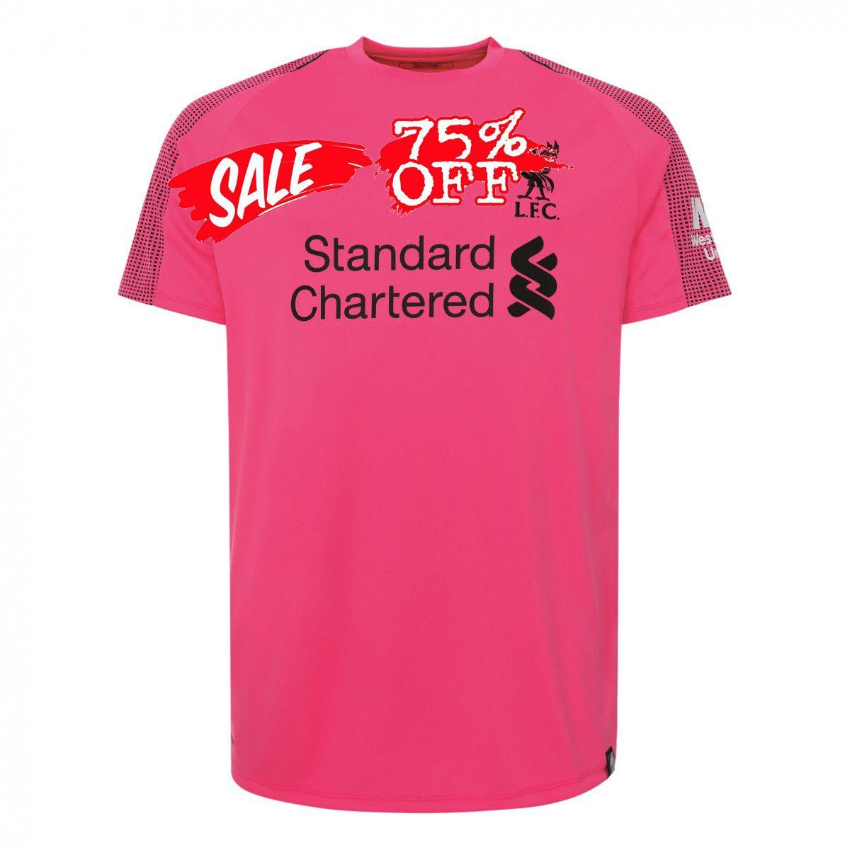 online retailer 2b261 37dd4 Liverpool 2018-19 Top Pink Goalkeeper Jersey | cheap ...