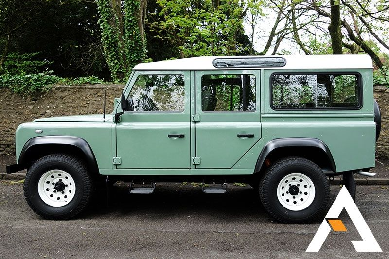 land rover defender 90 and 110 for sale and build to order to usa canada jeep stuff land. Black Bedroom Furniture Sets. Home Design Ideas