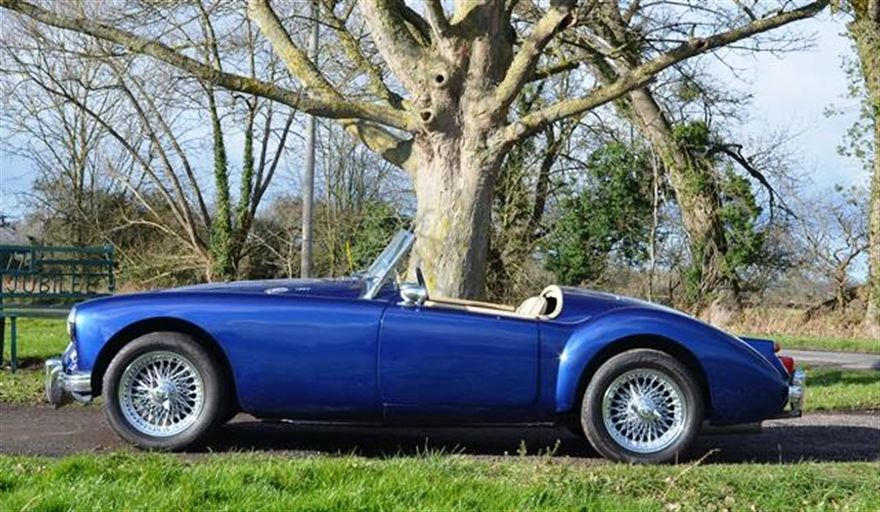 MG MGA For Sale, classic cars for sale uk (Car advert