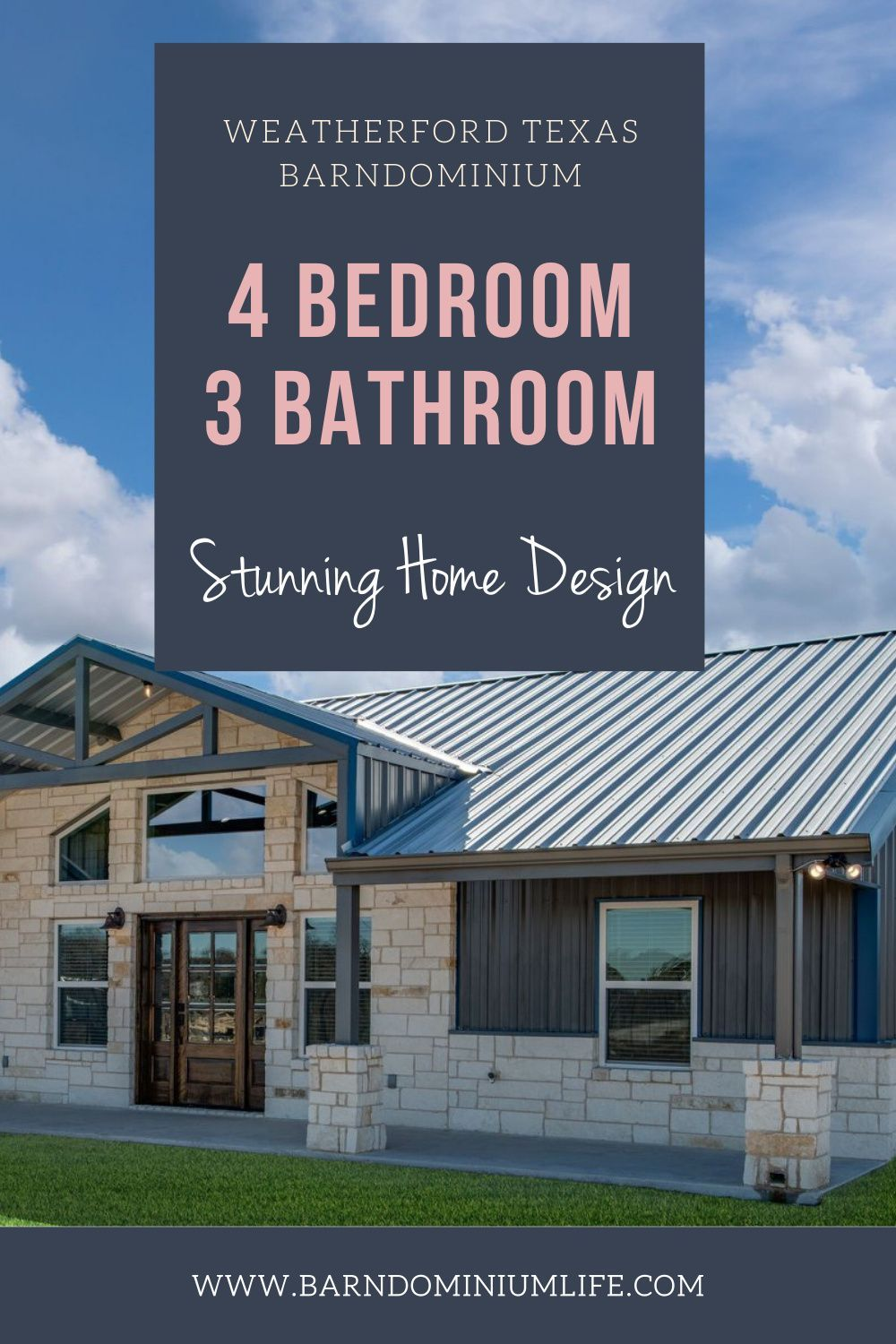 Weatherford Texas Barndominum Gorgeous 4 Bedroom Overview In 2020 Barn Style House Barn House Plans Dream House Plans