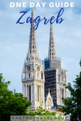 How To Spend One Day In Zagreb Croatia Zagreb Travel History Balkans Oldtown Foodie Travelblogger Architec Zagreb Europe Travel Guide Croatia Travel