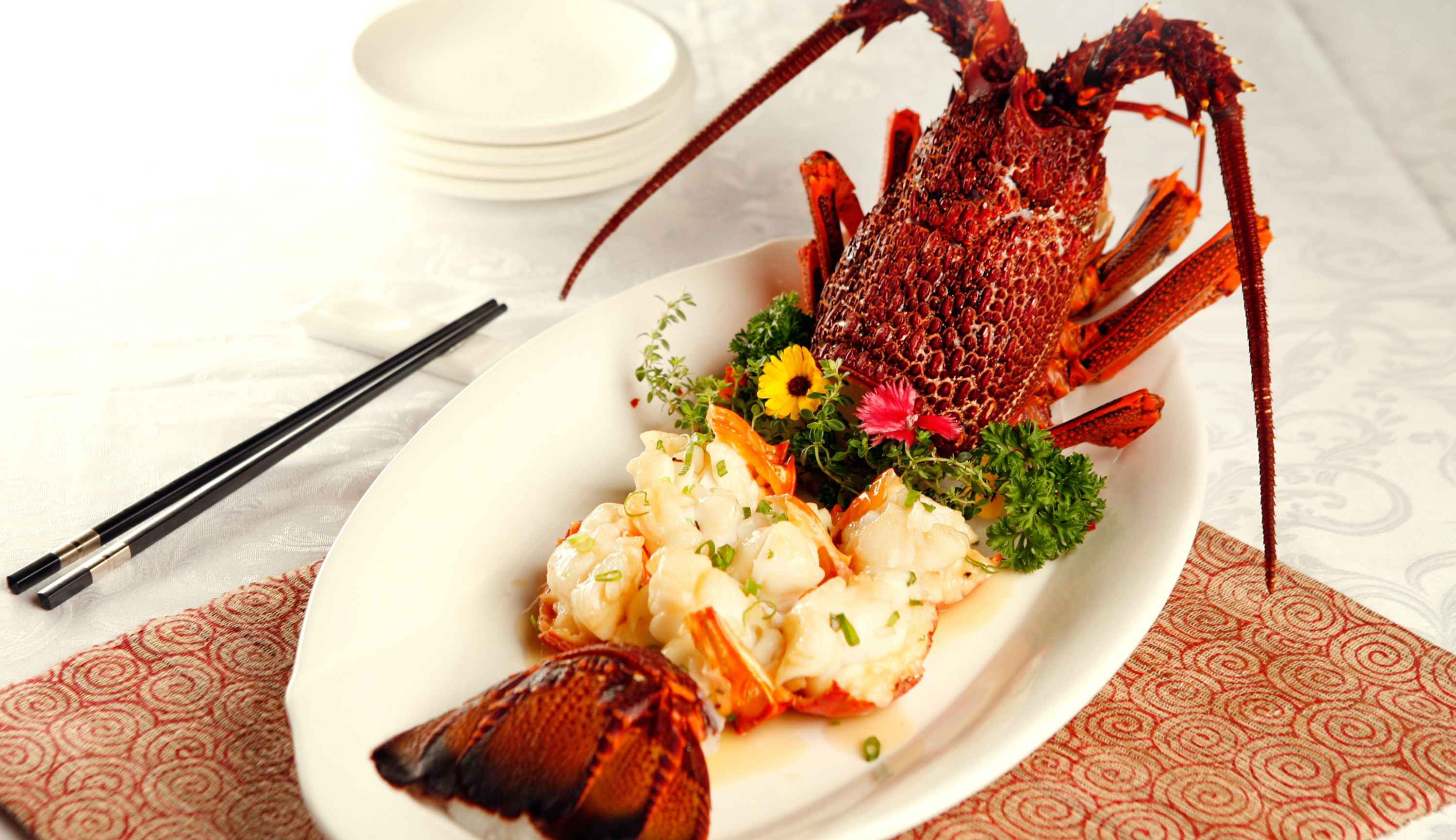 Imperial Treasure Baked Lobster With Supreme Gravy
