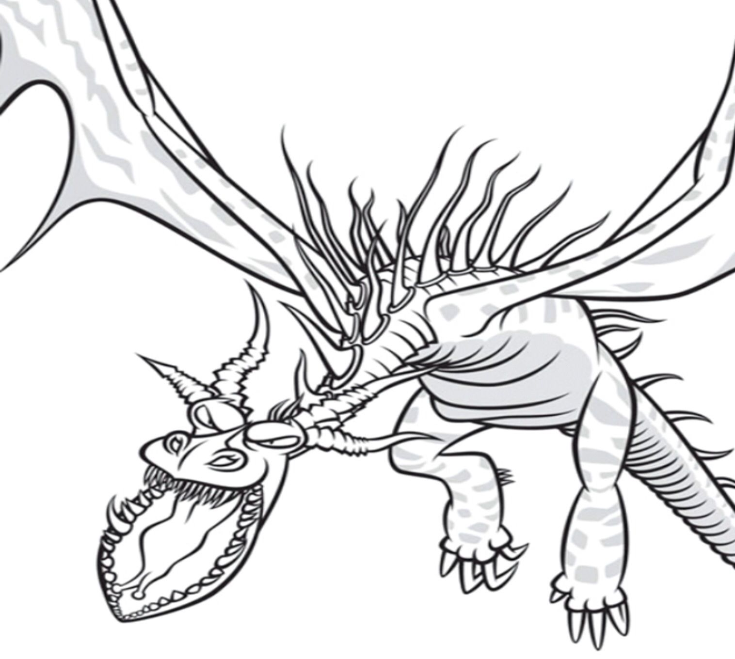 Monstrous Nightmare Drawings School Of Dragons How To Train