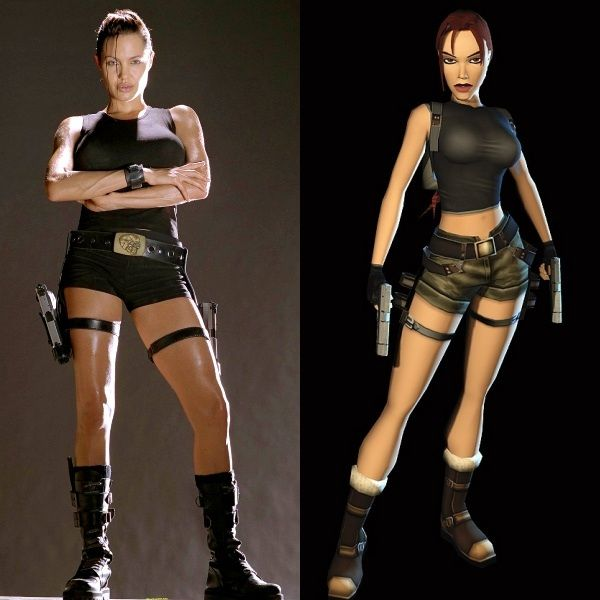 Angelina Jolie Lara Croft Angelina Jolie Lara Croft Tomb Raider