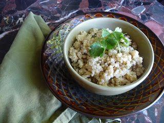Clean Eating Machines: Cilantro-lime quinoa