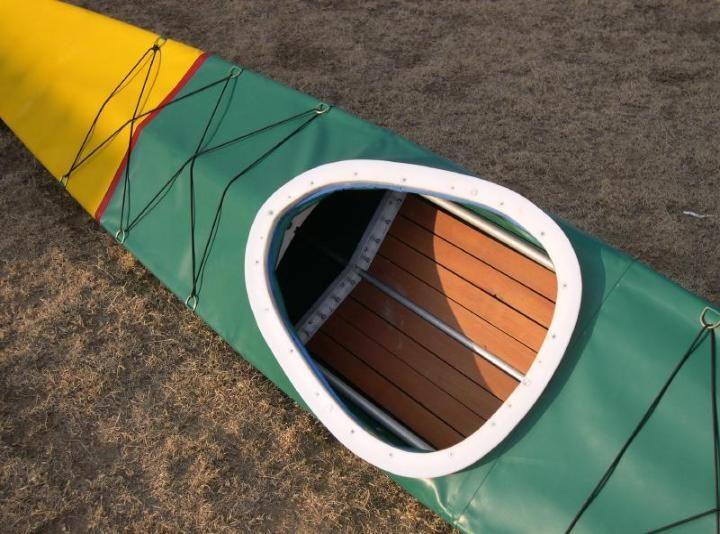 Making a skin for a folding kayak | Kayaking | Kayaking, Wood canoe