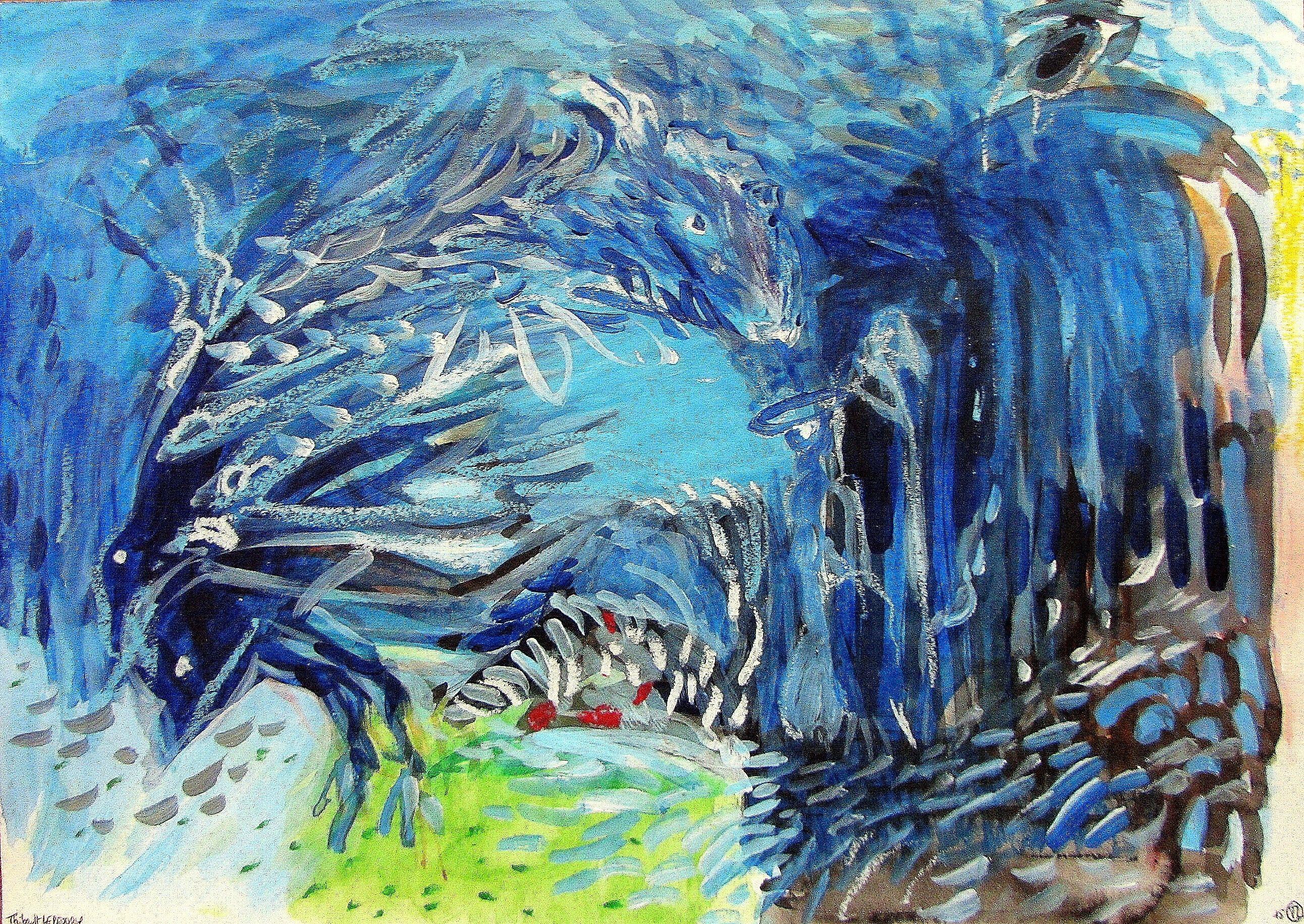 Peintures Aquarelles Kazoart Galerie D Art En Ligne Art En