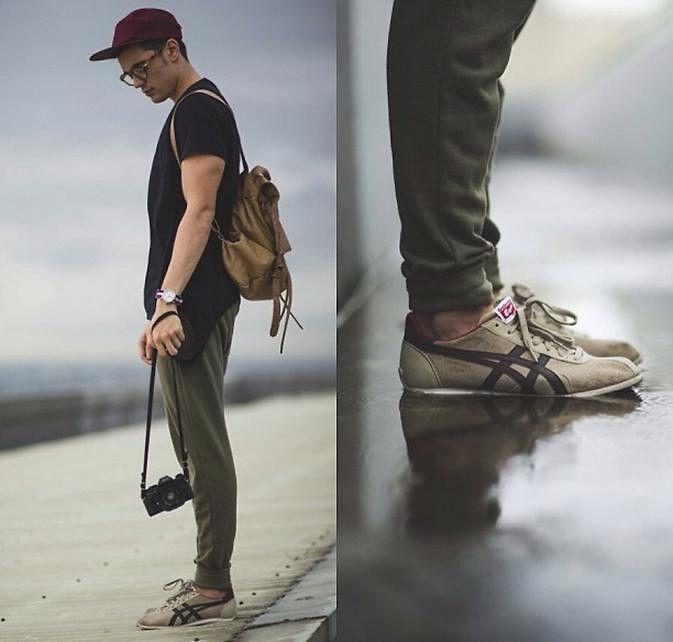 onitsuka tiger men fashion