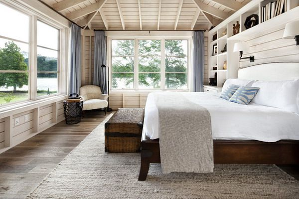 Modern Interior Beach House For Cozy Atmosphere Relaxing Bedroom Combines The Coastal Style With A Cottage Look Equipped Wooden Flooring Unit Ideas
