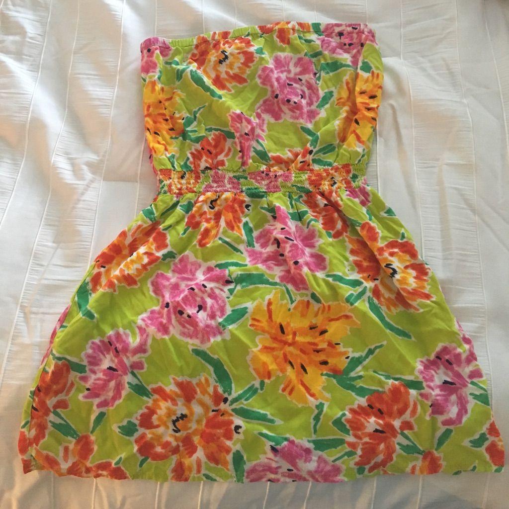 Aerie Flower Sun Dress