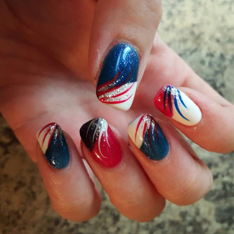 June/July 2015 | My own hands, nail designs I have had | Pinterest ...