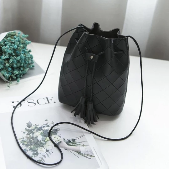 2018 Women Bag Japan Style Bucket Bags For Women 2018 Drawstring Bucke Intothea Leather Bag Women Bucket Bag Bags