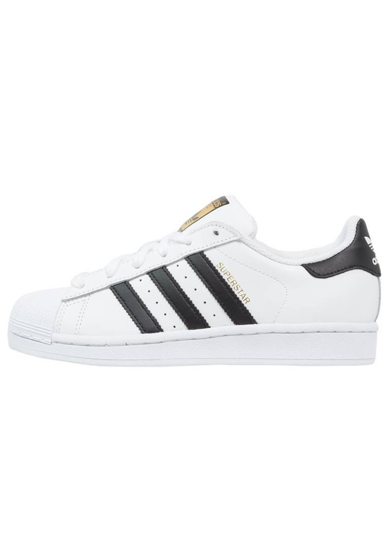 adidas Originals. SUPERSTAR - Baskets basses - white/core black. Semelle de propreté