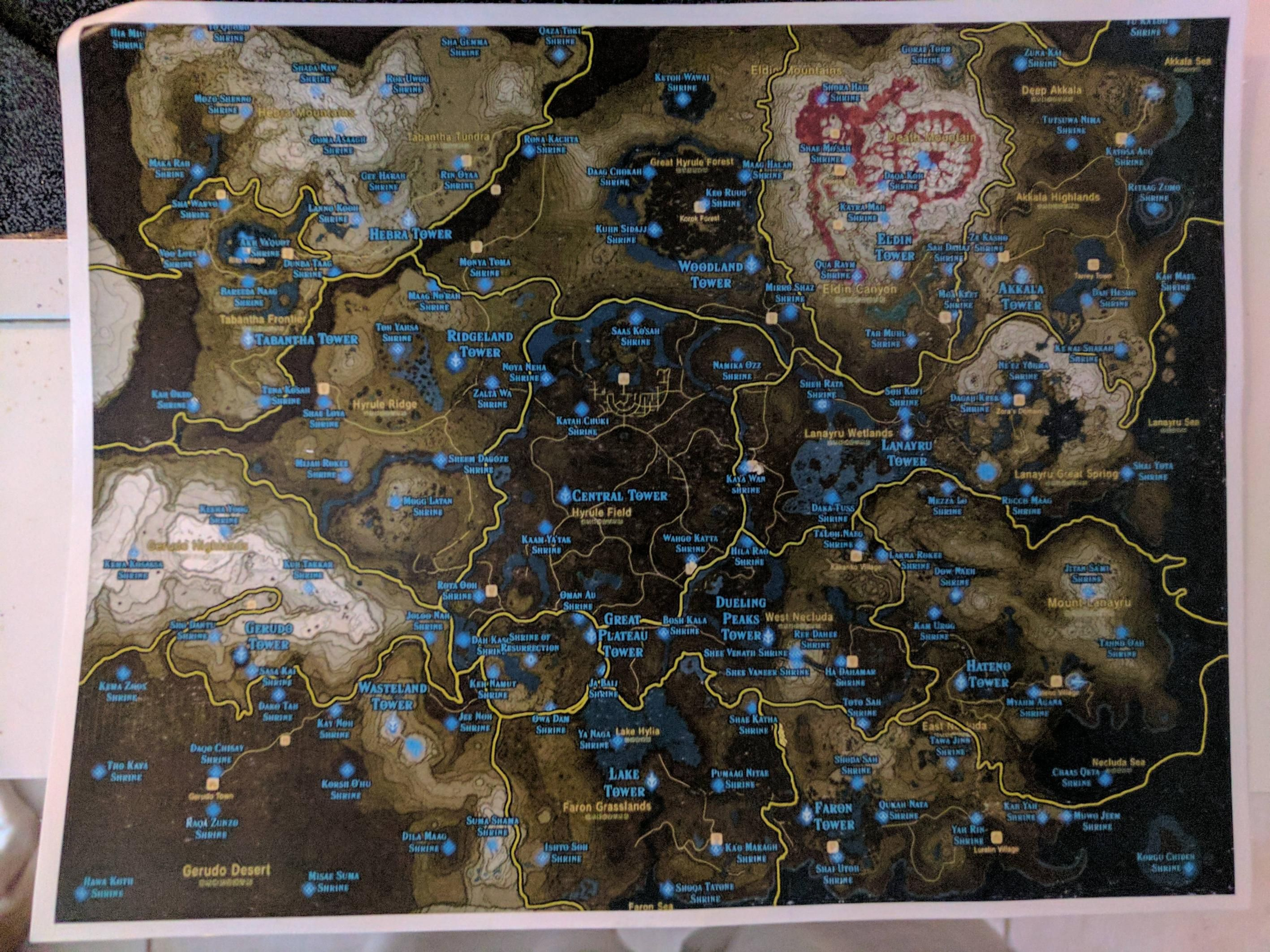 Mm Ideas Zelda Map Legend Of Zelda Breath