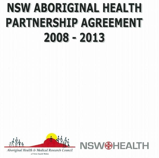 NSW Aboriginal Health Partnership Agreement Indigenous Health