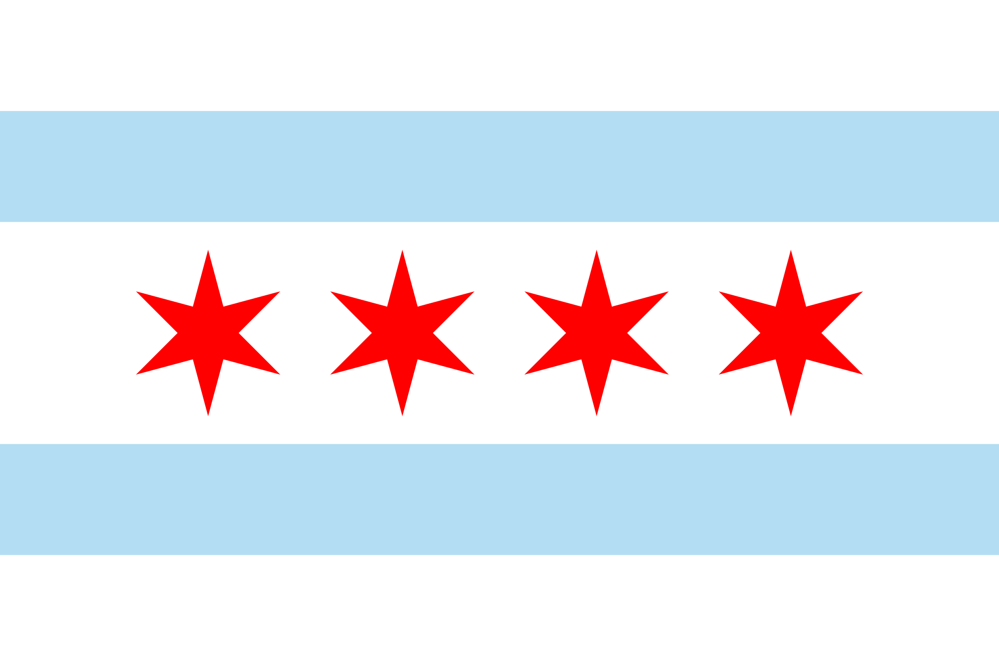 Why The Chicago Flag Has A Spectacular Design Chicago Flag Tattoo City Flags Flag Of Chicago