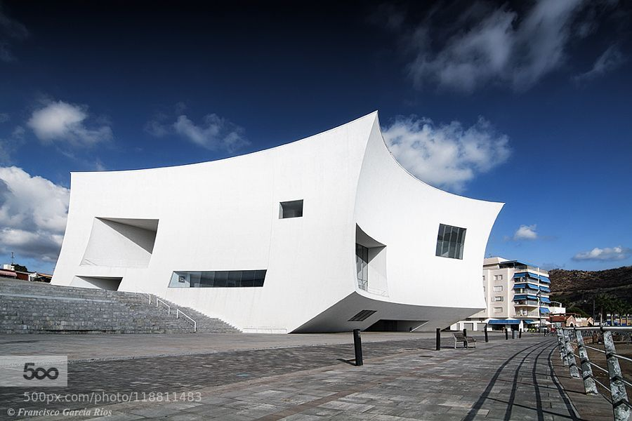 Auditorium and Congressional Palace Águilas (Murcia Spain). by FranciscoGarciaRios