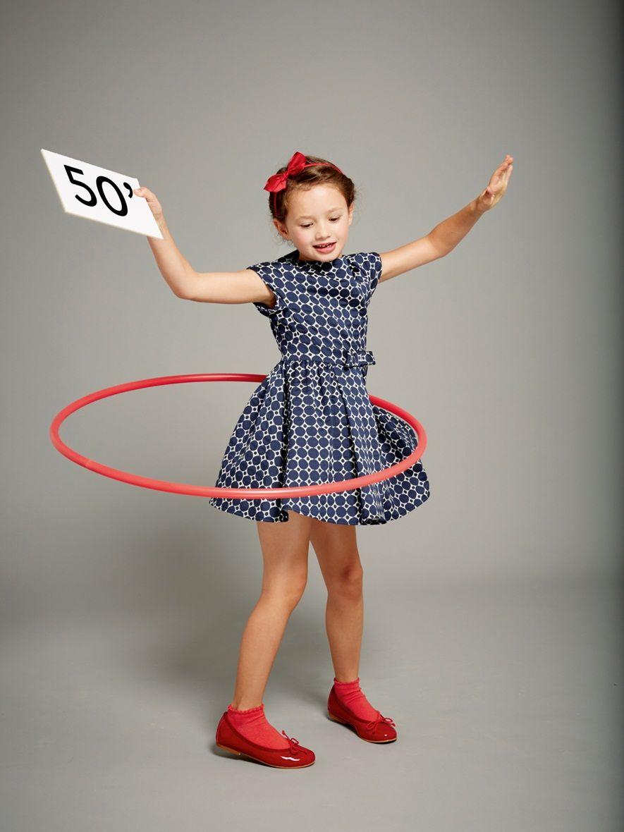 robe fille elle ann es 50 enfant vetement et d co cyrillus mode filles pinterest. Black Bedroom Furniture Sets. Home Design Ideas