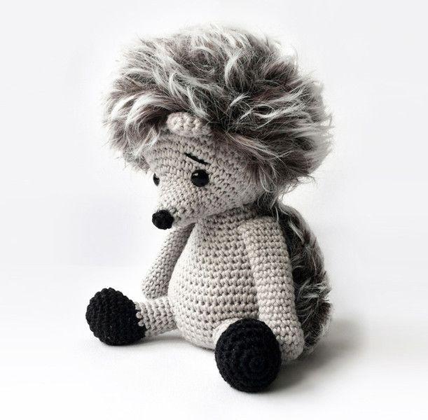 Häkelanleitungen Amigurumi Hedgehog Pattern Anleitung Ein