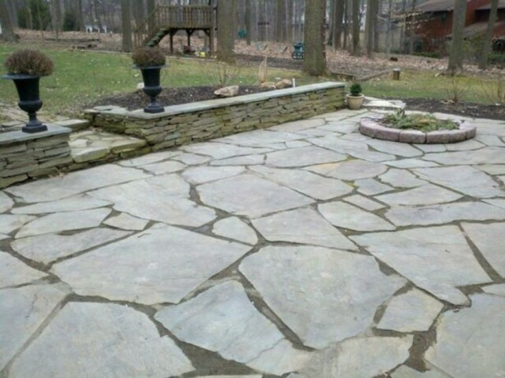 Merveilleux Image Result For Large Flagstone Patio