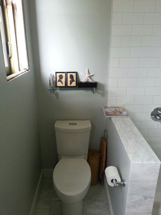 Pony Wall To Separate Toilet Home Ideas Bathroom Pony Wall
