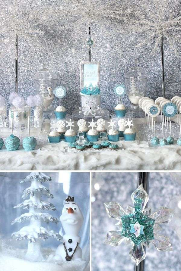 Marvelous Winter Wonderland Decorating Ideas For Christmas Part - 2: Winter Wonderland Decor Kids Christmas Party Theme Frozen Party Ideas