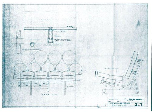 A blueprint of the Marshmallow sofa, designed by Harper for Herman - copy blueprint network design