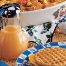Peach Waffle Syrup